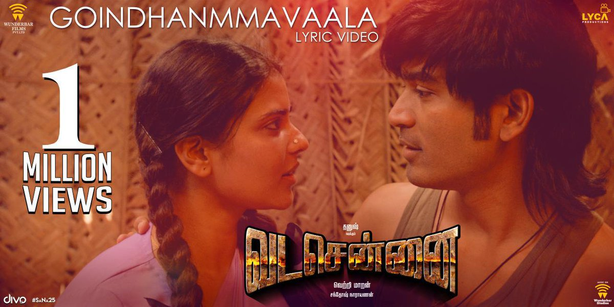 Goindhanmmvaala Song lyrics – Vadachennai