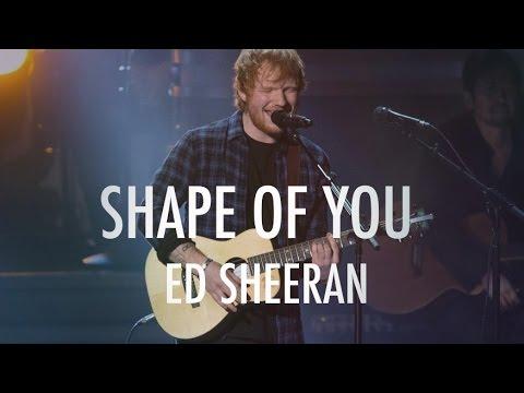 I  Love Shape Of  you Album Lyrics
