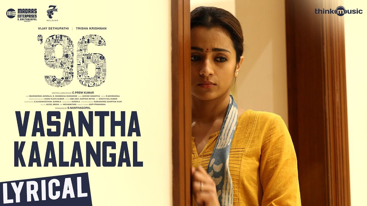Vasantha kaalangal song lyrics – 96