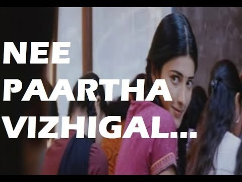 Nee Paartha Vizhigal song lyrics – 3 movie
