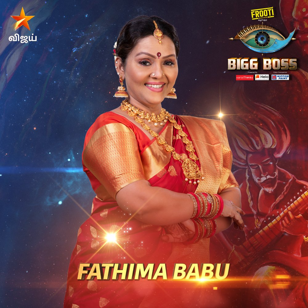 Bigg Boss 3 Tamil 15 Contestants ( Age, Profile, wiki, Images