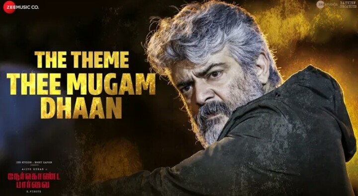 The Theme Thee Mugam Dhaan Song Lyrics – Nerkonda Paarvai