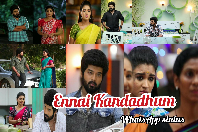 Ennai Kandadhum Yen Nee Oligirai Aadhi Parvathy Whatsapp Status