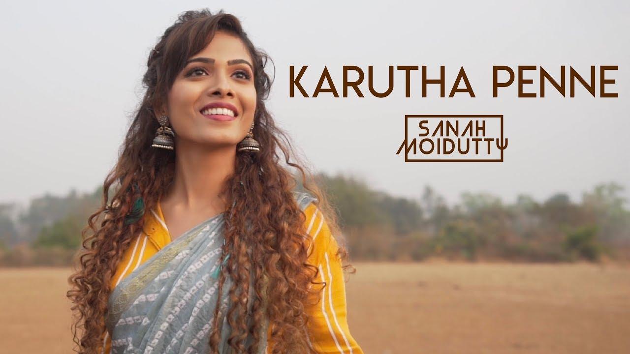 Karutha Penne Song Lyrics – Sanah Moidutty