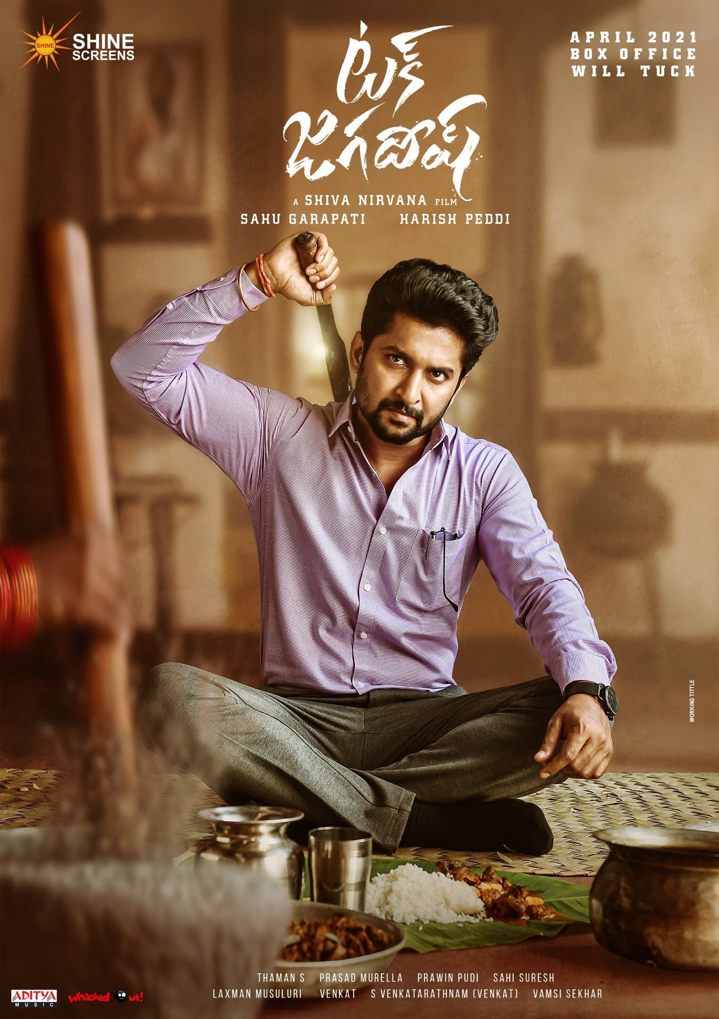 Tuck Jagadish Song Lyrics